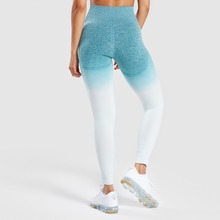 Women Yoga Pants Compression Tights Seamless Fitness Stretchy High Waist Running Pant Leggings Hip Push Up