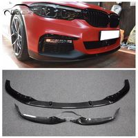OLOTDI Car Styling Carbon Fiber / ABS MP Style Front Bumper Lip Protector For BMW G30 G31