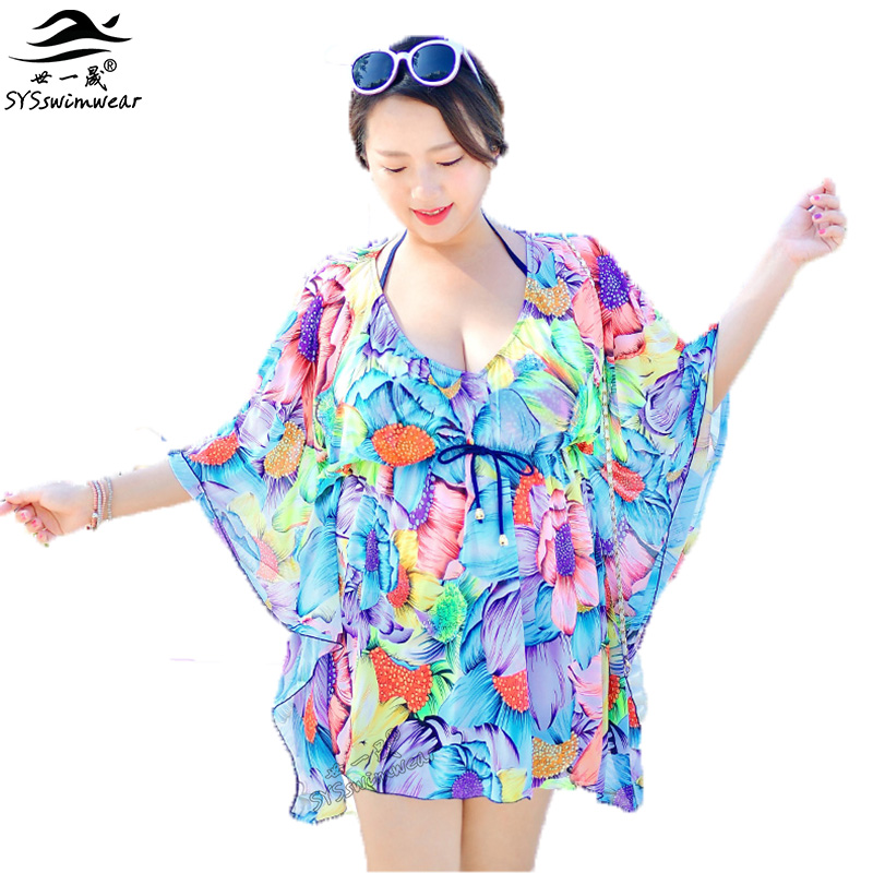 Summer Beach Top Quality Plus Size 3 Pieces Sexy Women Bikini Swimwear with Floral Cover-Ups Hot Print Push Up Bikini Swimsuit new summer beach top quality plus size sexy women one piece swimwear floral