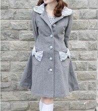 Top Sale  Royal Warm Winter Cute Lolita Coat Winter Long Coats All Size
