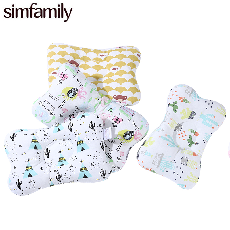 [Simfamily] Newborn Baby Pillows Baby Head Protection Baby Bedding Cushion Pad Kids Head  Concave Support Prevent Pillow[Simfamily] Newborn Baby Pillows Baby Head Protection Baby Bedding Cushion Pad Kids Head  Concave Support Prevent Pillow