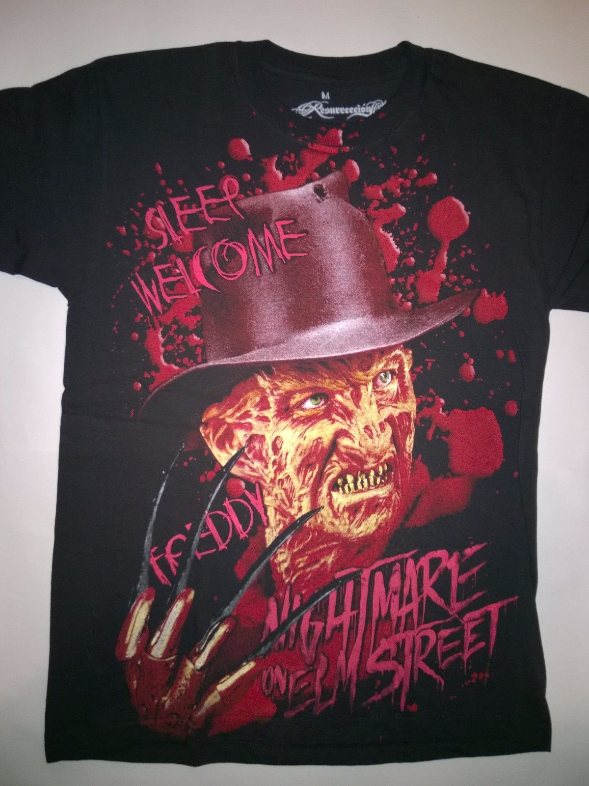 2d1cd976799 FREDDY KRUEGER T-Shirt Nightmare on Elm Street Halloween Friday13 Jason  Horror Sleeve Men T