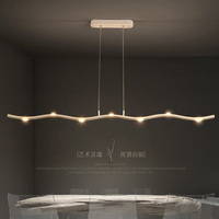 Modern LED chandelier Nordic lighting restaurant illumination bedroom fixtures living room lights novelty hanging lamps
