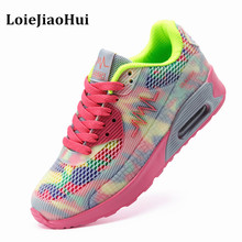 New 2016 Fashion Flats Women Trainers Breathable Sport Woman Shoes Casual Outdoor Walking Women Flats Zapatillas Mujer