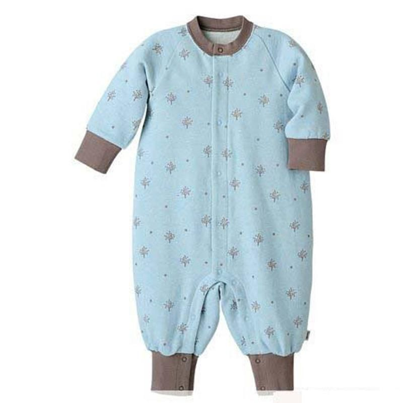 baby Newborn Printed warm winter Lovely thick polar fleece fabric Romper clothes Floral infant climbing long sleeve toddler