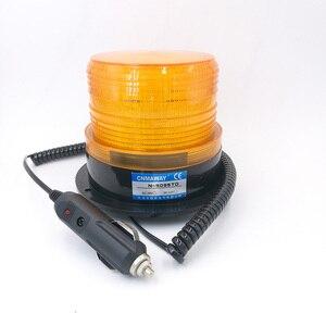N-5095TD/TJD lampka kontrolna Rolling z zapalniczka do cygar ostrzegawczy sygnał świetlny lampa błyskowa led Beacon Strobe lampa awaryjna 12V 24V 220V