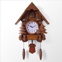 Cuckoo Clock Fashion Living Room Classic Cheap Wall ClockvOnly 20inch Alarm Clock Quality Swing Wartch Modern Battery Wall Clock