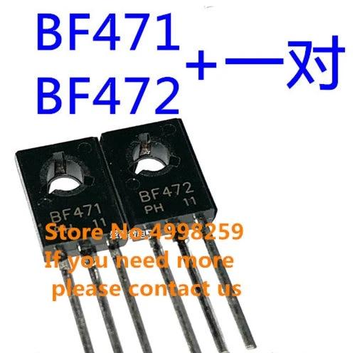 PAIR BF471 BF472 TRANSISTOR TO-126