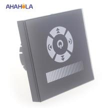 EU standard trailing edge triac touch switch wall dimmer 220v for led light input AC 110v 220v output ac 110/220v 1 channel