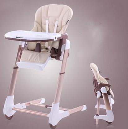As crianças comem cadeira de multi-função cadeira de bebé bebê comer cadeira de comer mesa e cadeira dobrável de liga de alumínio portátil