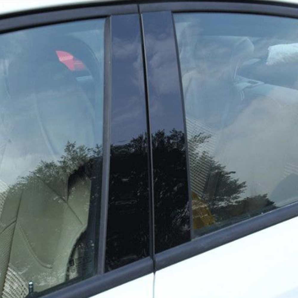 10 шт./компл. автомобильные дверные и оконные стойки BC, наклейки на крышку для Mazda отделка по центру CX5 2011-2019, автомобильные внешние аксессуары