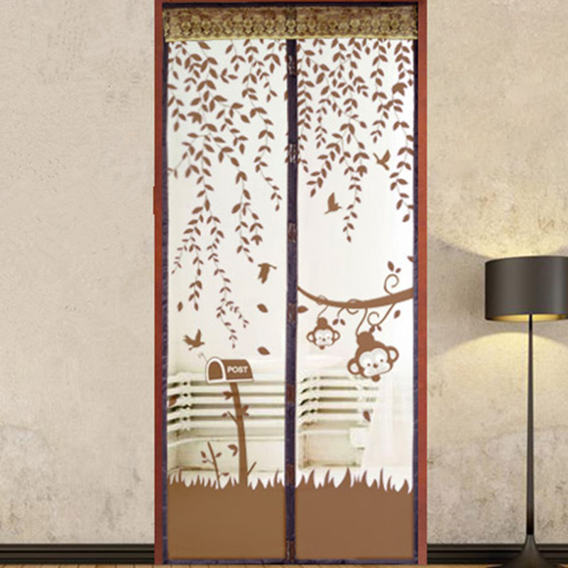 New Magic Magnetic Insect Door Screen Divider Net Fly Bug Anti Mosquito  Mesh Portiere Door In Window Screens From Home U0026 Garden On Aliexpress.com |  Alibaba ...