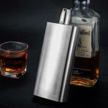 Flachmann 500ml whisky topf edelstahl 304 17 unzen metall alkohol container wein flasche männer geschenk