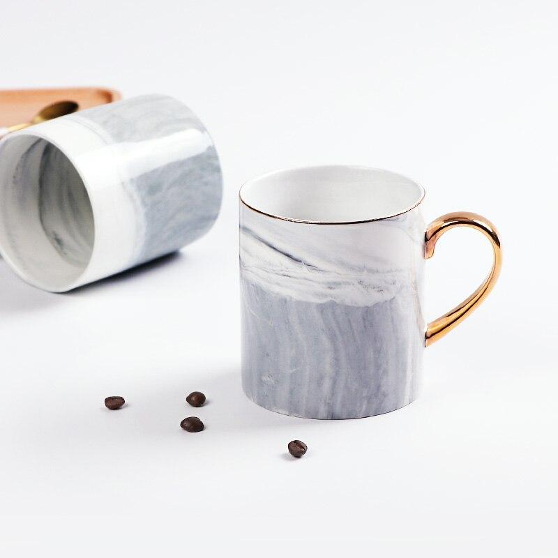 300ml Ceramic Luxury Design Tea Coffee Mugs Bone China