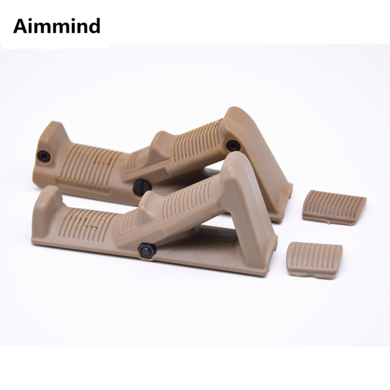 First and second Generation AFG Grip Handle Triangle Holder Toy Gun Accessories ABS Plastic On Sale image