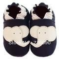 Envío gratis 8 par/lote garantizado 100% suela blanda zapatos de bebé de cuero bebé primer caminante dr0007-50