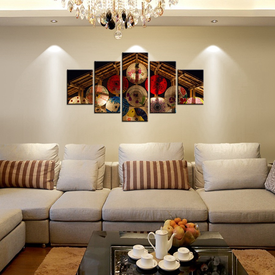 compare prices on umbrella wall art canvas online shopping buy