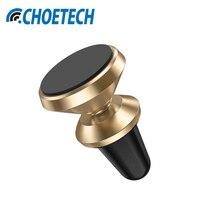 CHOETECH Universalentlüftungs Kfz 360 Grad-umdrehung Magnetische Telefonhalter Armaturenbrett Für iPhone X/8 Plus Alle Smartphone