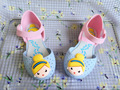 Korean style girls  jelly slipper cartoon color cool sandals