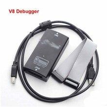 Hot V8 Debugger Emulator Programmer Arm Cortex-M4 / M0 Emulation Downloader Support automatic upgrade, support KEIL5