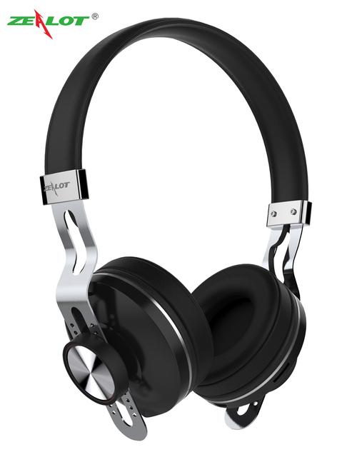 Nueva Llegada Zealot marca B18 Bluetooth4.0 auriculares Bluetooth Inalámbrico Auriculares Estéreo Cómodo Auricular con Micphone