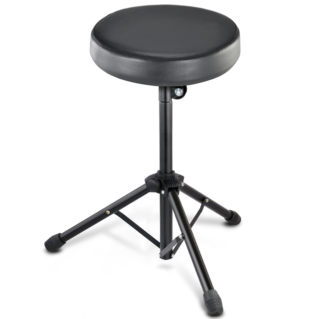 SDFC Pro Quality Folding Music Guitar Keyboard Drum Stool Rock Band Piano Chair Seat