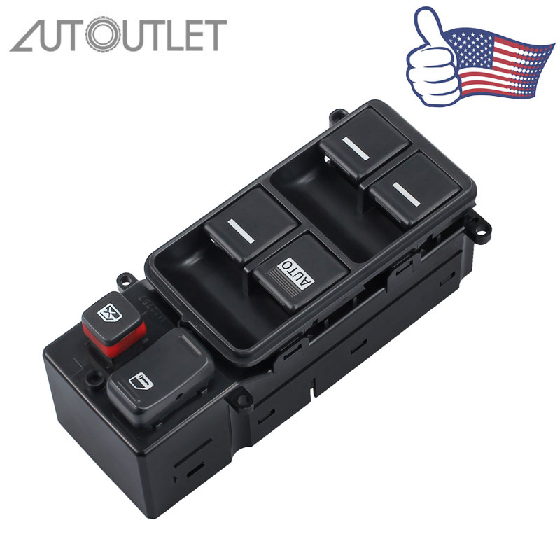 (Send from US)AUTOUTLET Master Window Switch FOR Honda Accord 35750 SDA H12 35750SDAH12 Window Switch