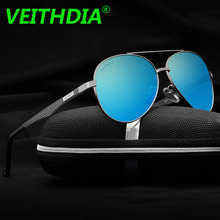 VEITHDIA Original Brand HD Polarized Sunglasses Men Driving Goggles Mirror Sun Glasses Eyeglasses Aluminum Magnesium Frame 3850