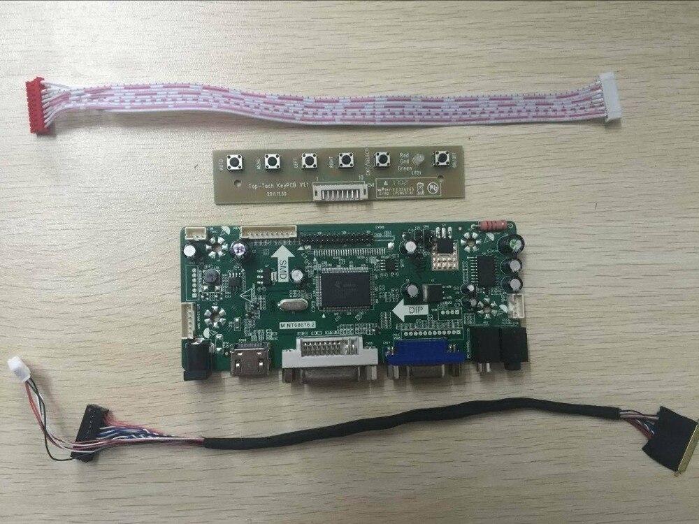 Bilgisayar ve Ofis'ten Tablet LCD'ler ve Paneller'de Latumab yeni LCD LED kontrol kartı sürücü kiti CLAA156WA11A HDMI + DVI + VGA ücretsiz kargo title=