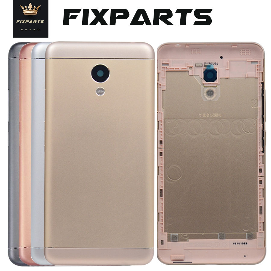 100% New Meizu M3s Mini 5.0 Inch New Metal Cover Case Meizu M3s Mini Back Battery Cover Housing Replacement Parts M3s Cover