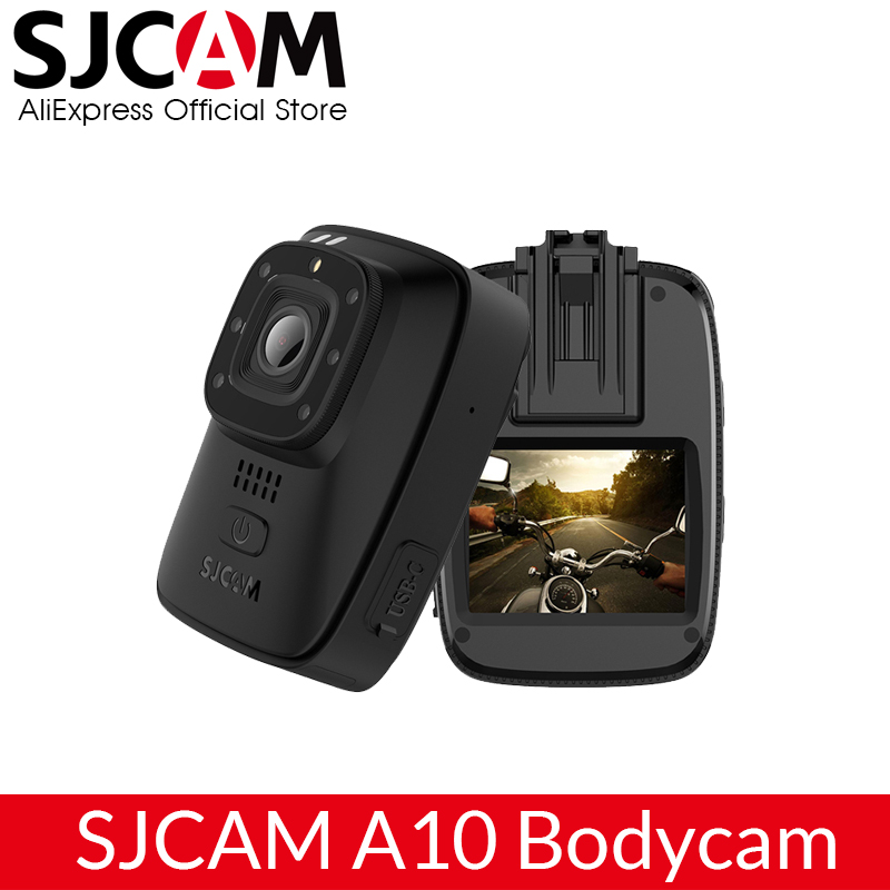 SJCAM A10 Portable Camera Wearable Body Cam Infrared Security Camera Night Vision Laser Positioning WIFI Action