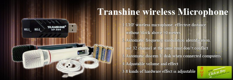 3.Transhine wireless Microphone