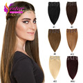 Clip in Human Hair Extensions African American Natural Hair Clip Ins 100% Human Clip In Hair Aplique Tic Tac De Cabelo Humano