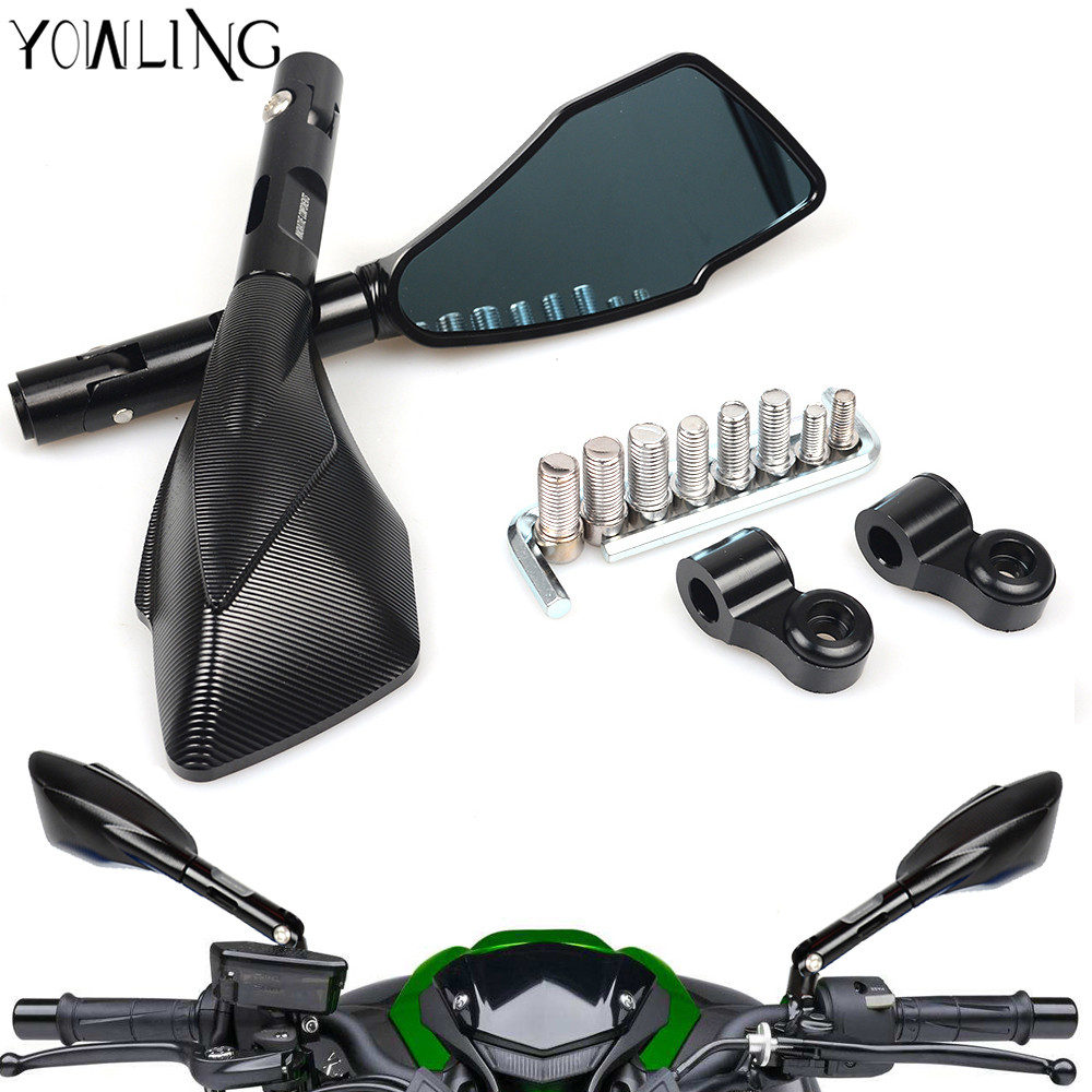 Universal Motorcycle Rear View Side Mirror FOR Honda CBR 600 F2 F3 F4 F4i CBR600RR CB1000R Hornet CB600F CB919 CB900 CB1300 mf2300 f2