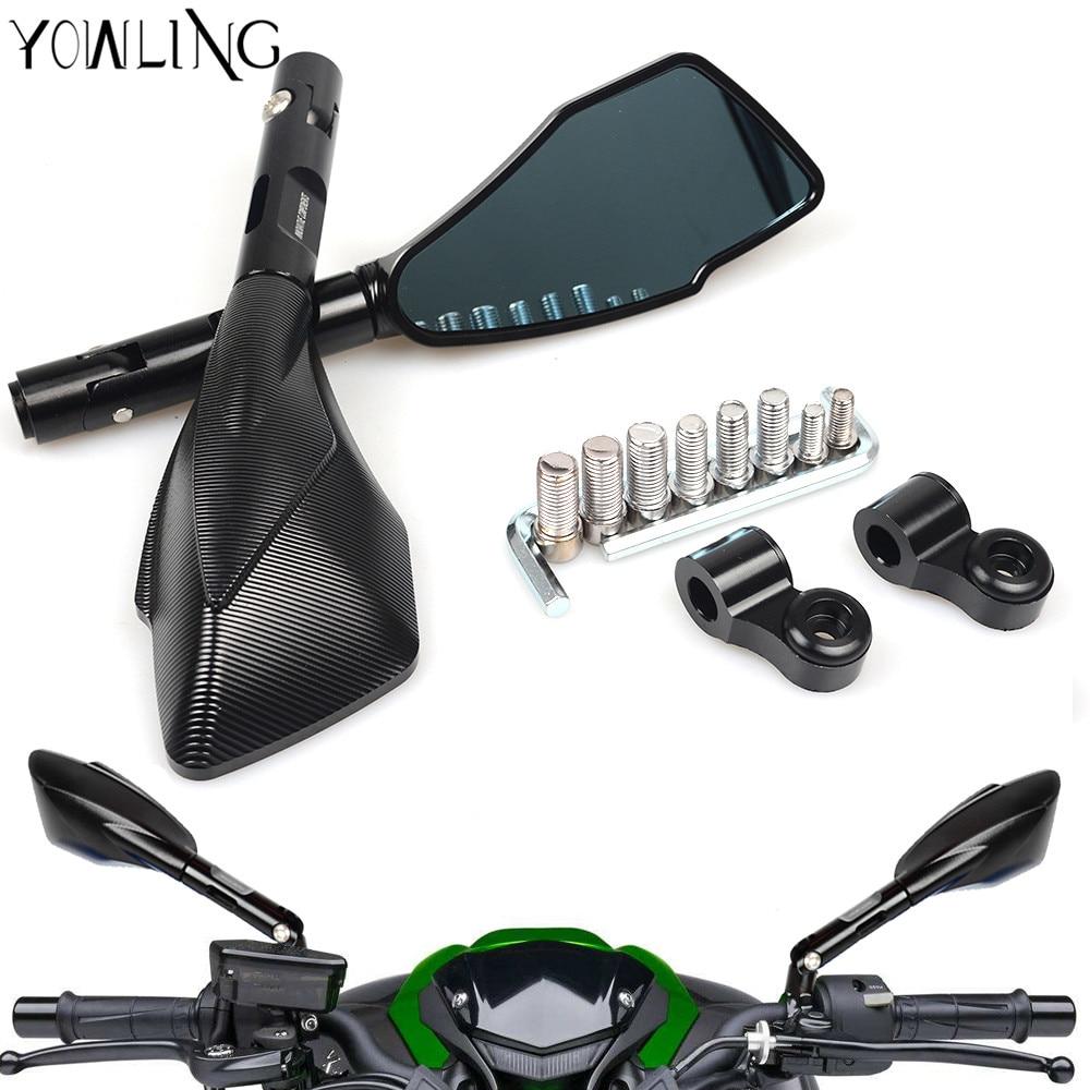 Универсальный мотоцикл заднего вида Боковые зеркала для Хонда ЦБР 600 Ф2 Ф3 Ф4 F4i CBR600RR CB1000R CB600F Шершень CB919 CB900 CB1300