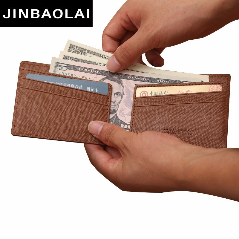 Magic Men Money Clips Vintage Front Pocket Clamp For Money Clip Holder Magnet Magic Money Clip Wallets With Card ID Case BJS-006