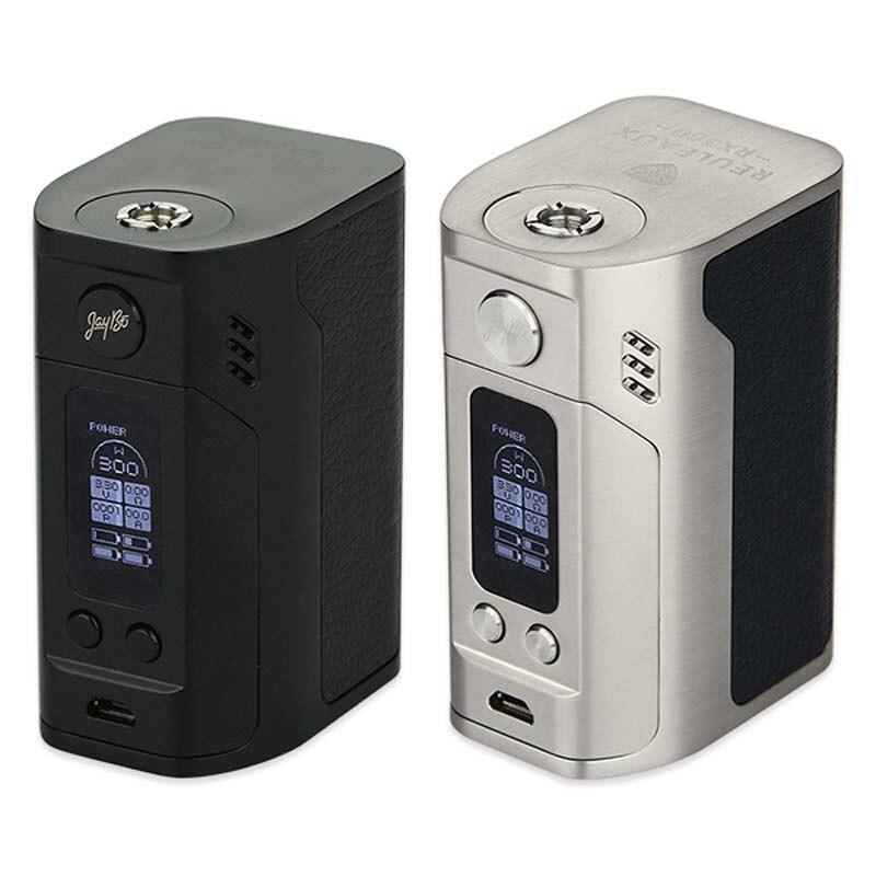 Original 300 W WISMEC Reuleaux RX300 TC Mod wismec rx300 boîte Mod VW/TC Modes E Cigarette boîte Mod vs RX200 Mod fit Reux réservoir
