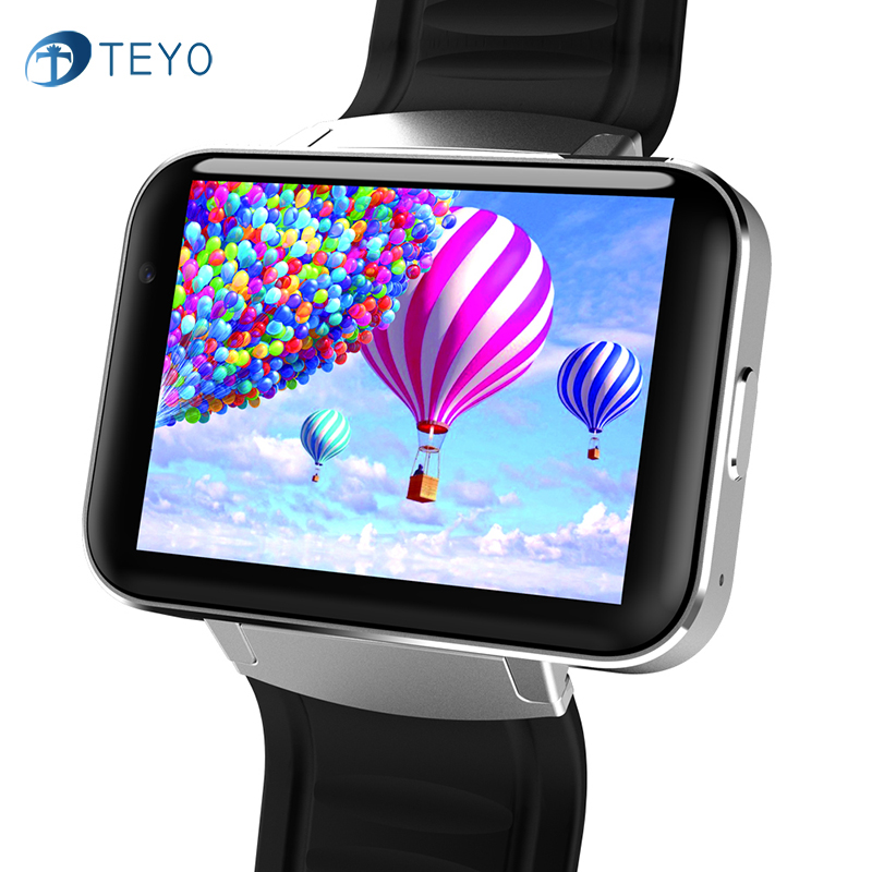 Teyo DM98 Smart Watch MTK6572 2.2 inch with Wifi GPS Smartwatch Camera Tracker SIM Card 512MB Ram 4GB Rom for Android OS 3G Net