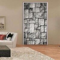 DIY Bé Room Đen và Gạch Trắng Phông Nền Tường Decals Cá Nhân Tường Dán PVC Trai Room Decor Gạch Hình Nền Phòng Ng