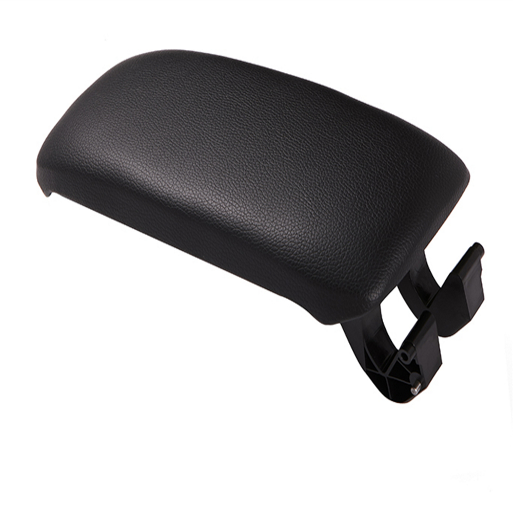 Image 4 - Leather Car Armrest Latch Cover Center Console Armrest Cover Car Black Storage Box  Lid Cover for Audi A3 8P/A5 Car accessories-in Armrests from Automobiles & Motorcycles