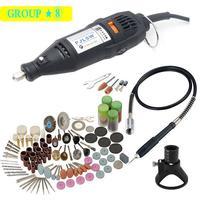 Pjlsw broca elétrica dremel moedor caneta gravura mini broca elétrica ferramenta rotativa máquina de moer acessórios dremel