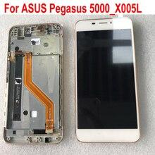 最高ワーキングセンサー液晶ディスプレイのタッチスクリーンデジタイザアセンブリの交換のためのフレームと asus は asus 5000_X005L 携帯パネル