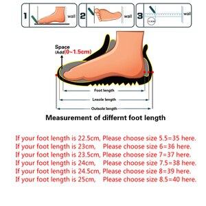 Image 5 - حذاء شتوي نسائي كلاسيكي من FEVRAL حذاء برقبة على الكاحل من جلد الغزال حذاء برقبة طويلة للنساء للتدفئة مصنوع من الفرو بنعل من قماش القطيفة عالي الجودة