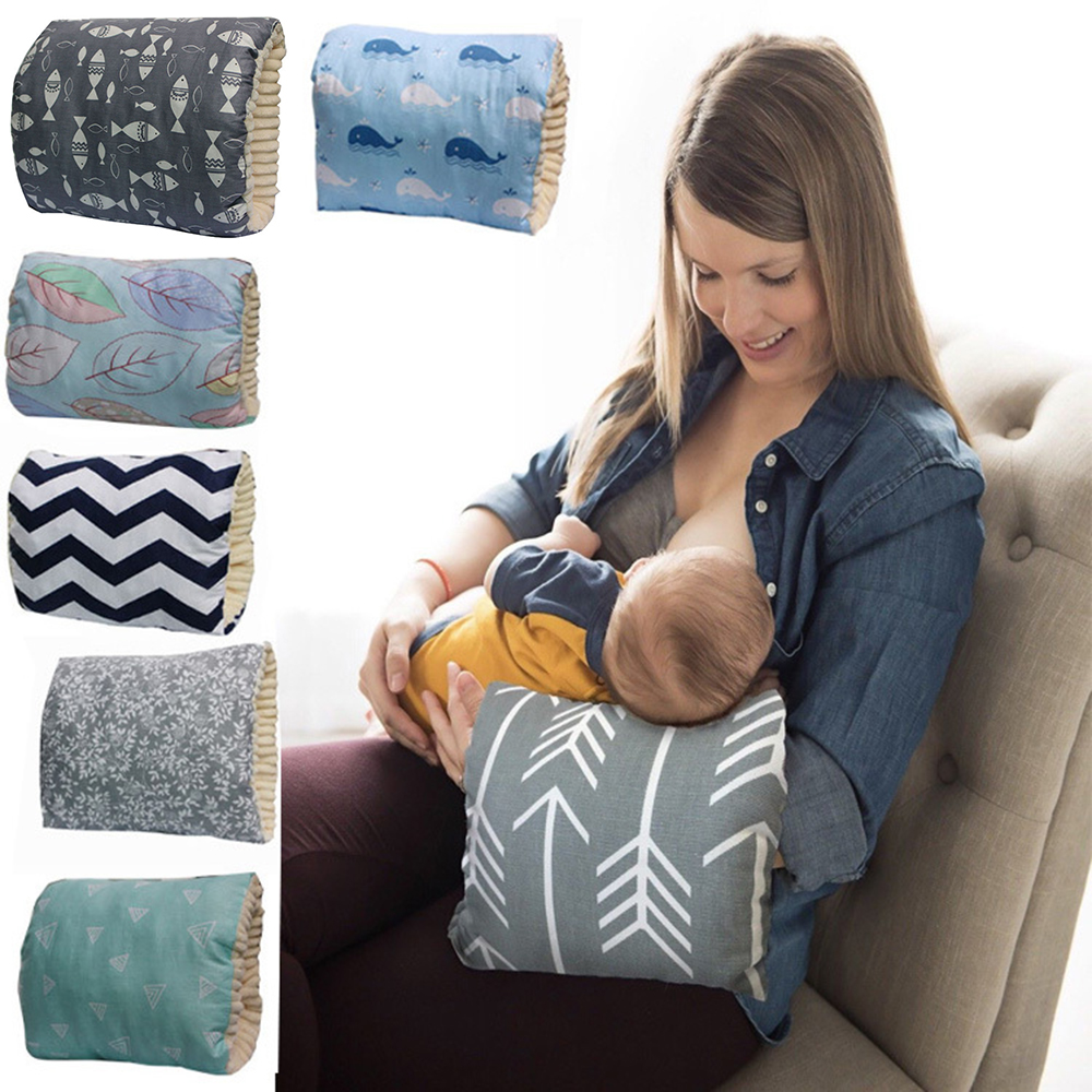 Newborn Baby Arm Feeding Pillow Breastfeeding Head Protection Cushion Baby Bedding Nursing Pillow Toddler Sleep Feeding Pillow