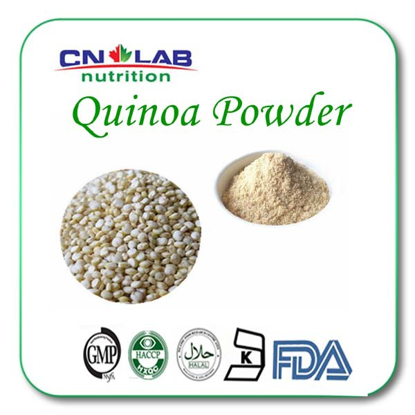 hot selling Organic White Quinoa powder from GMP factory 1kg/lot hot sale gmp certificate 100