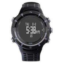 ezon watch H001C01 Waterproof PU Strap Shock Resistant Climbing Dive Multifunction mens Watches