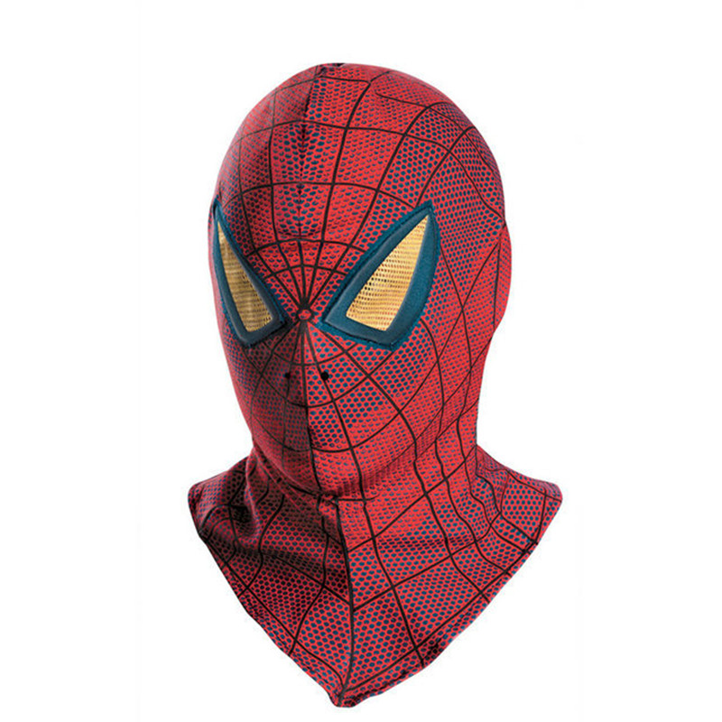 spiderman mask hood spider man mask halloween scary mask cosplay mascaras halloween party avengers carnaval costume
