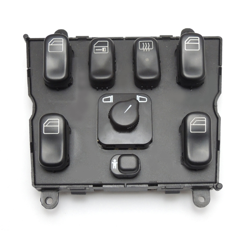 KEMiMOTO A 1638206610 Power Window Switch for Mercedes-Benz ML320 W163 ML400 ML430 ML500 A1638206610 163 820 6610 power window lifter switch for mercedes benz actros mpii 9438200097