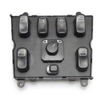 KEMiMOTO A 1638206610 Power Window Switch for Mercedes Benz ML320 W163 ML400 ML430 ML500 A1638206610 163 820 6610