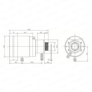 Image 5 - 5 メガピクセルバリフォーカル M12 マウント cctv レンズ 5 50 ミリメートル長距離ビュー 1/2。7 インチマニュアルフォーカスとズーム 1080 p/5MP ip/ahd カメラ
